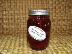 Photo of You Can't Beet These Pickles in a jar.